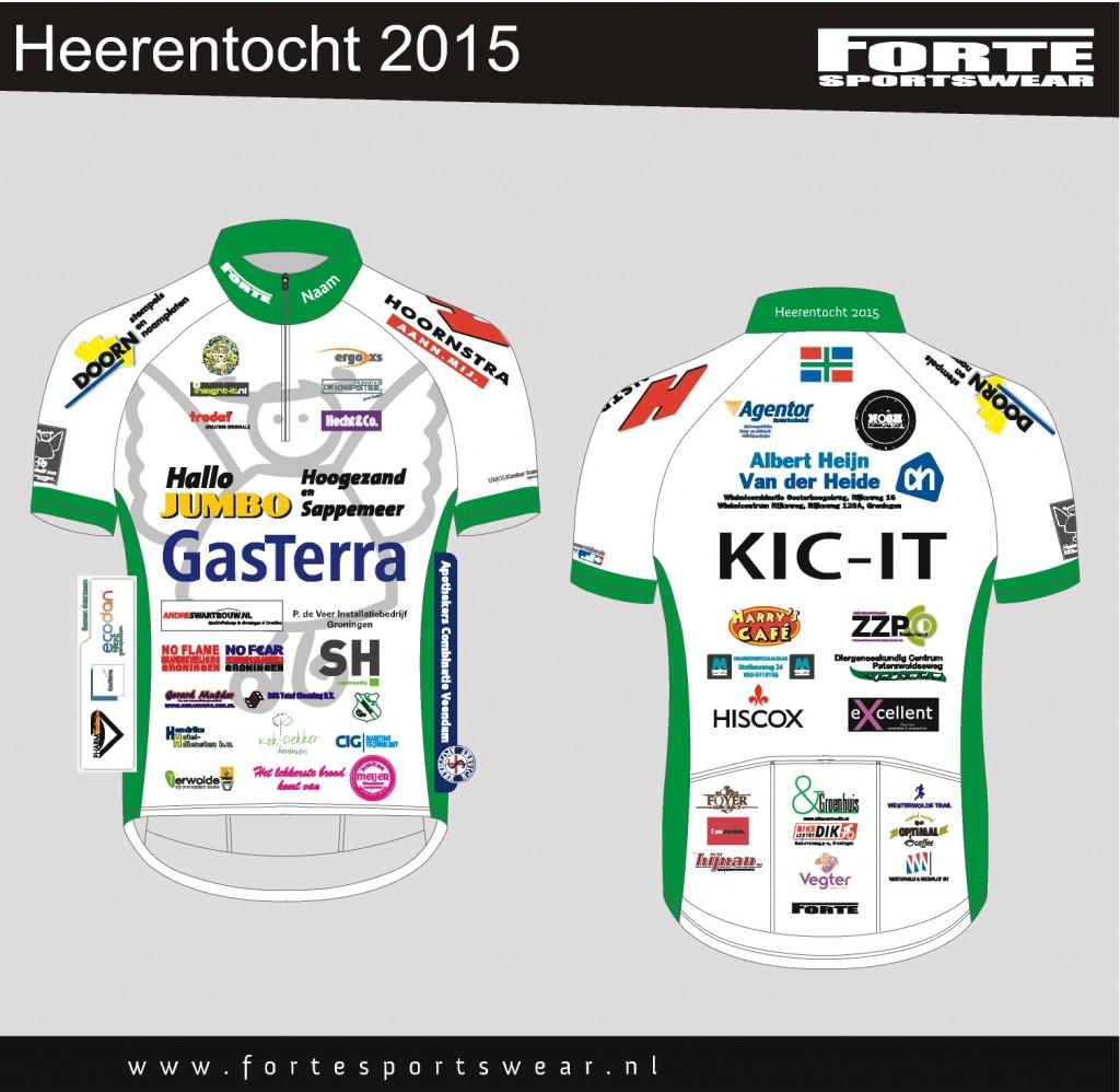 6-4-2015 Wielershirt Heerentocht 2015