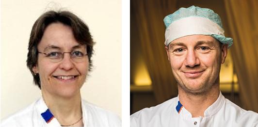 UMCG Kanker Researchfonds specialisten Adrienne Brouwers en Schelto Kruijff